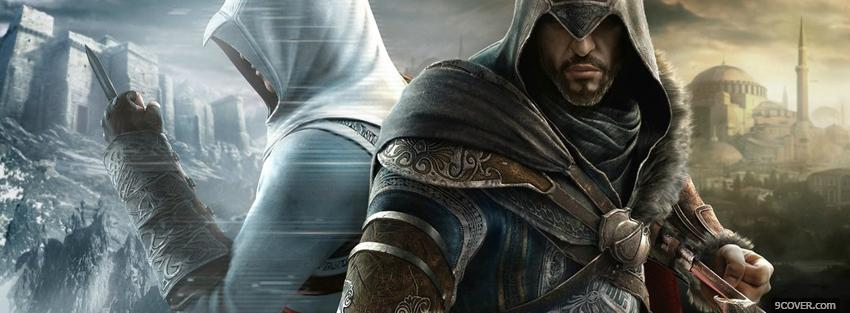 Photo video games assassins creed revelations Facebook Cover for Free