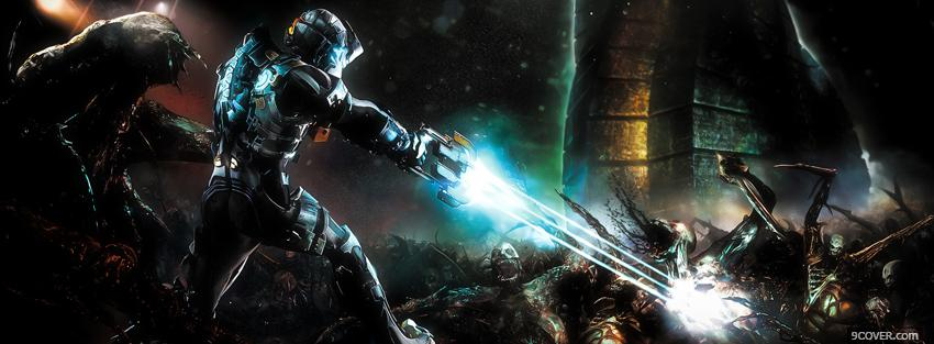 Photo video games dead space Facebook Cover for Free