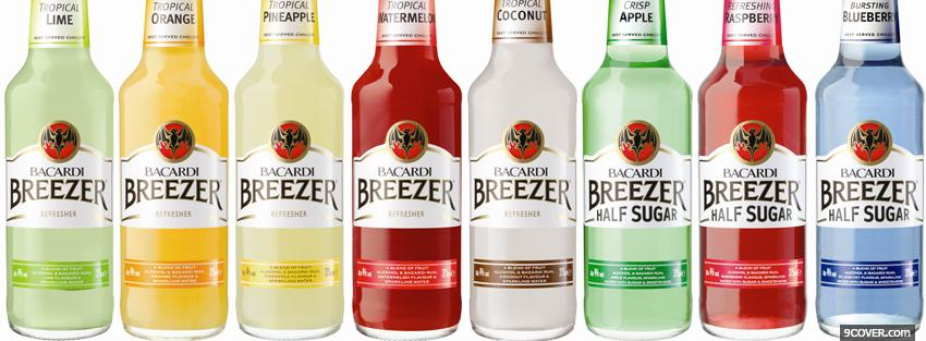 Photo bacardi breezer tastes Facebook Cover for Free