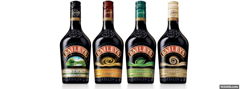 Photo different baileys tastes Facebook Cover for Free