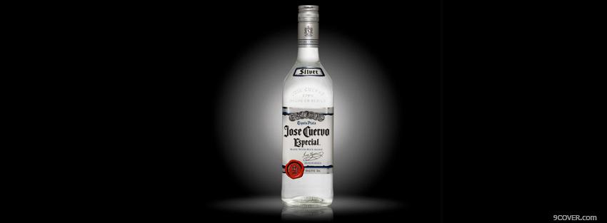 Photo silver jose cuervo Facebook Cover for Free