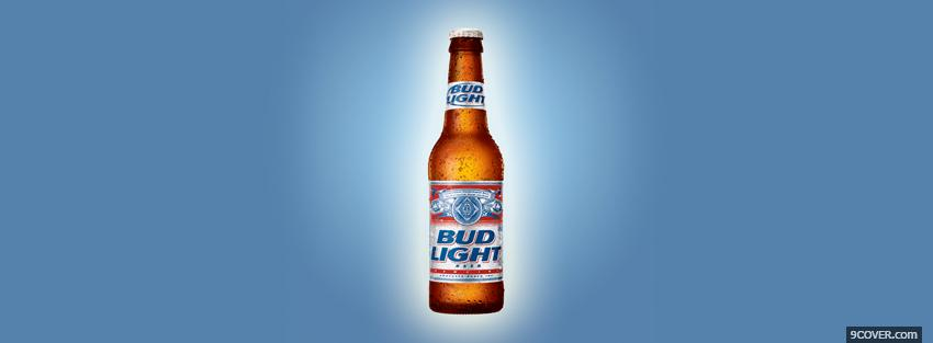 Photo bud light beer Facebook Cover for Free