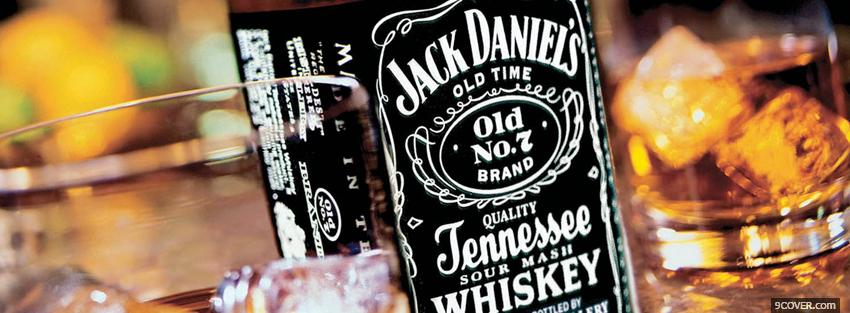 Photo jack daniels tennessee whiskey Facebook Cover for Free