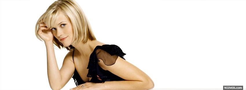 Photo great celebrity reese witherspoon Facebook Cover for Free