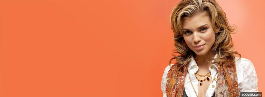 Photo stunning actress anna lynne mccord Facebook Cover for Free