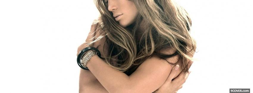 Photo luxurious jennifer lopez Facebook Cover for Free