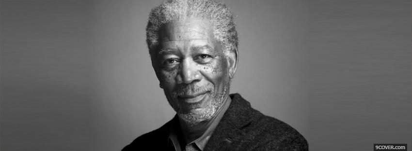 Photo simple morgan freeman Facebook Cover for Free