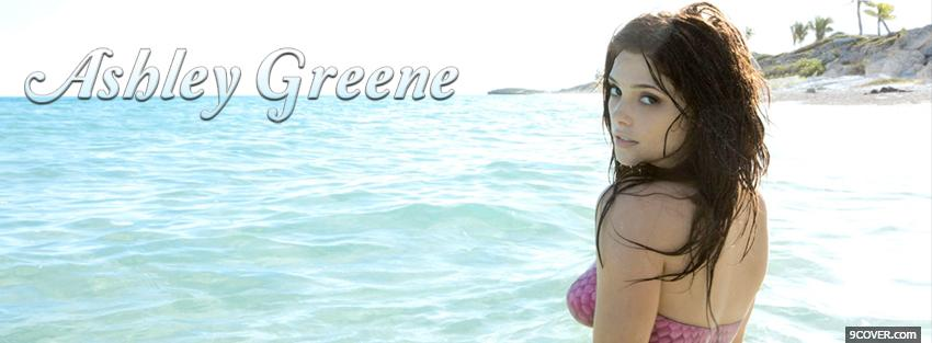 Photo hot celebrity ashley greene Facebook Cover for Free