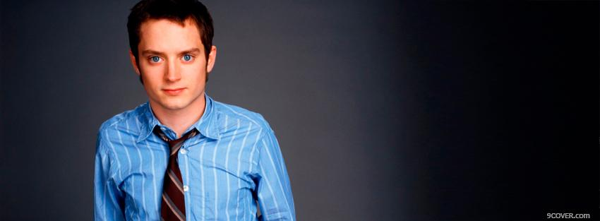 Photo actor elijah wood Facebook Cover for Free