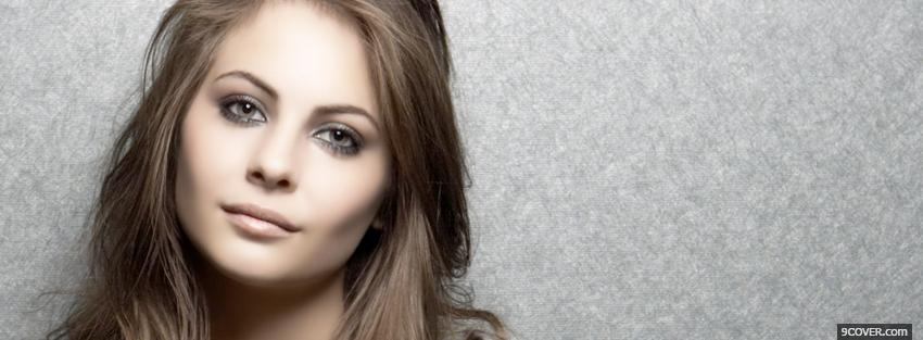 Photo superb face of willa holland Facebook Cover for Free