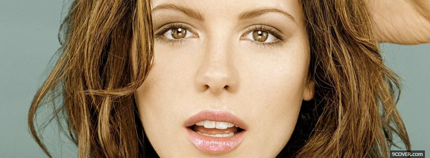 Photo celebrity kate beckinsale Facebook Cover for Free