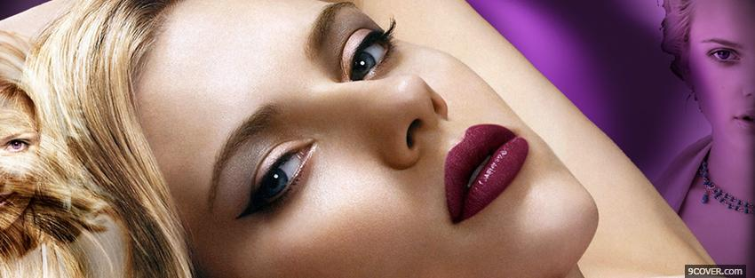 With Makeup Facebook Cover