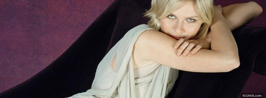 Photo kirsten dunst female actress Facebook Cover for Free