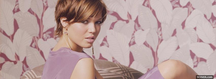 Photo luxurious mandy moore Facebook Cover for Free