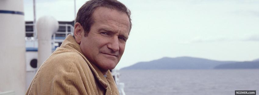 Photo robin williams in insomnia Facebook Cover for Free