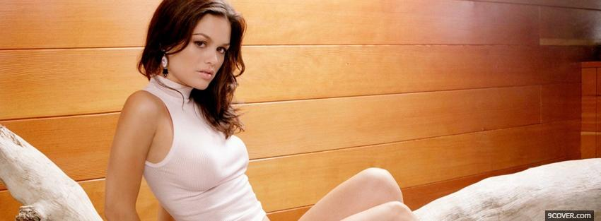 Photo alluring celebrity rachel bilson Facebook Cover for Free