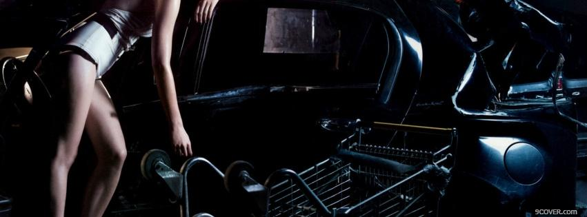 Photo gloomy celebrity kirsten dunst Facebook Cover for Free
