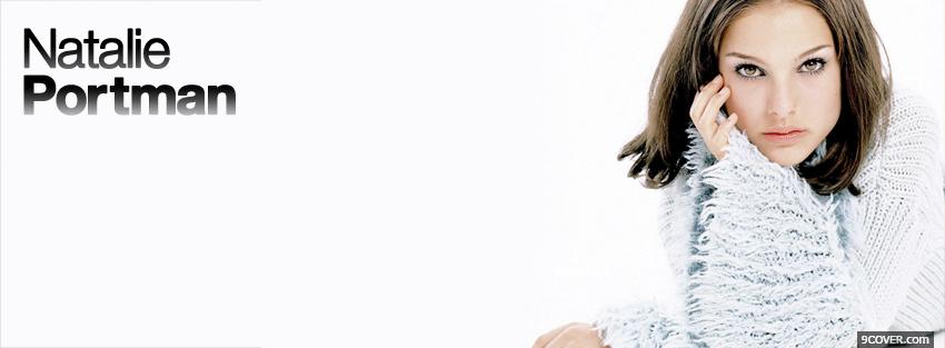 Photo celebrity natalie portman Facebook Cover for Free
