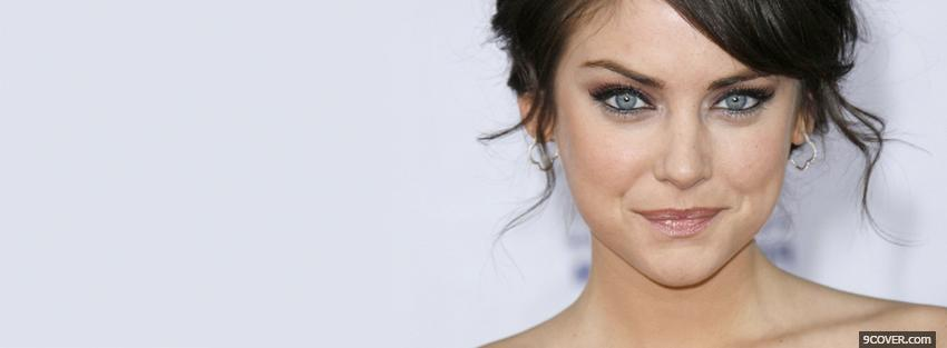 Photo actress jessica stroup Facebook Cover for Free