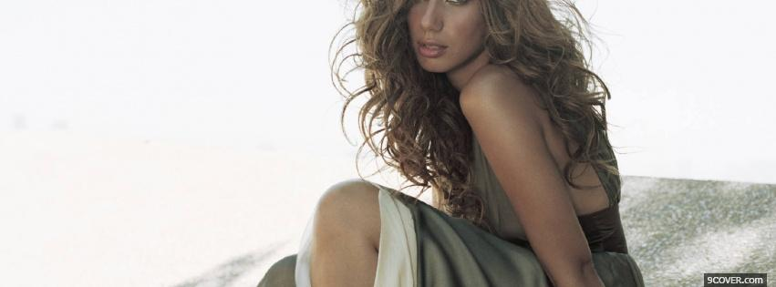Photo celebrity singer leona lewis Facebook Cover for Free