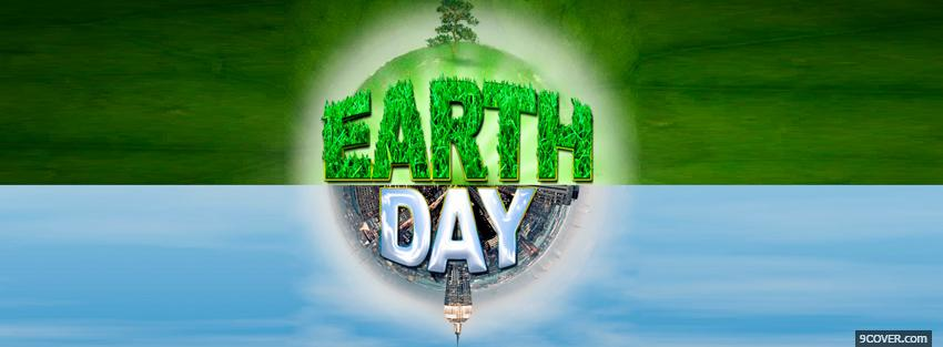 Photo st patric earth day Facebook Cover for Free
