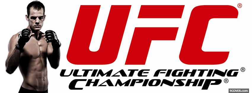 Photo cole miller ufc red logo Facebook Cover for Free