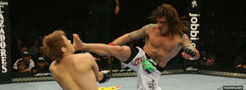 Photo clay guida ufc Facebook Cover for Free