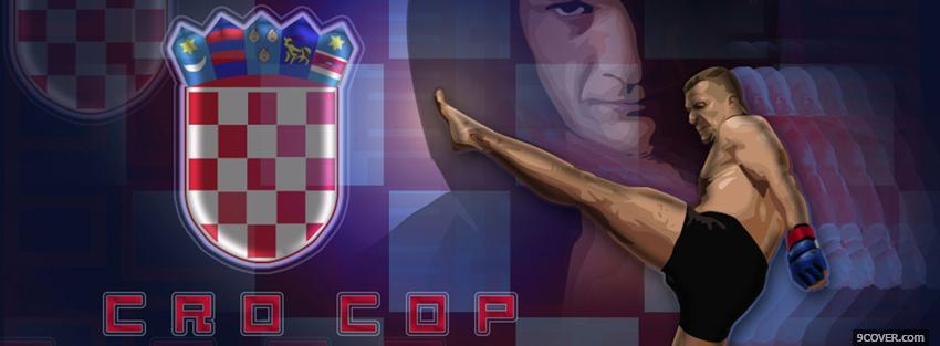 Photo cro cop fighter mma Facebook Cover for Free