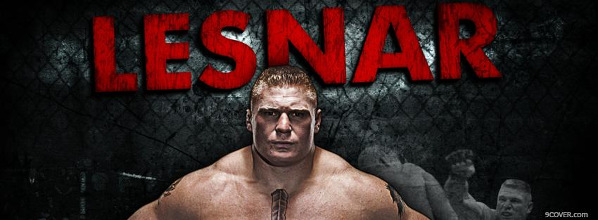 Photo lesnar ufc fighter Facebook Cover for Free
