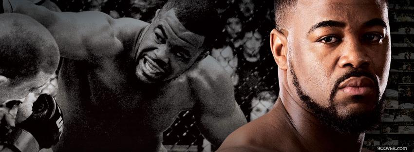 Photo rashad evans fighting Facebook Cover for Free