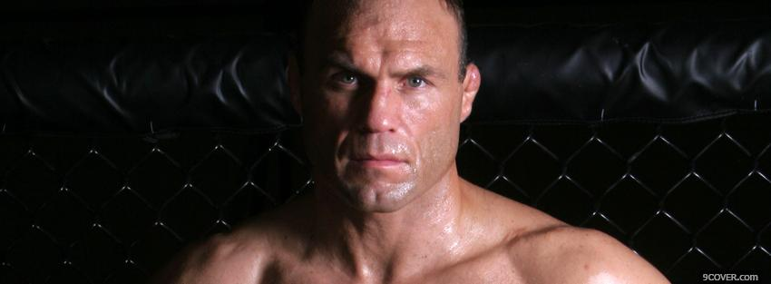 Photo randy couture ufc face Facebook Cover for Free