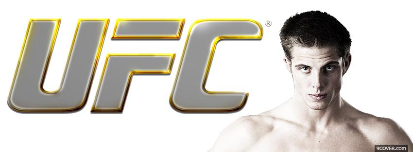 Photo yellow ufc logo Facebook Cover for Free
