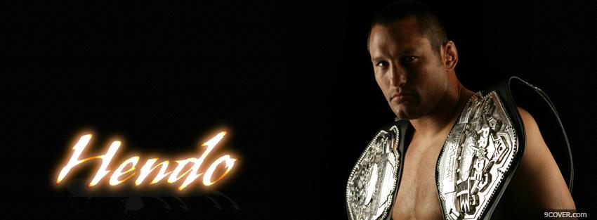 Photo hendo ufc fighter Facebook Cover for Free