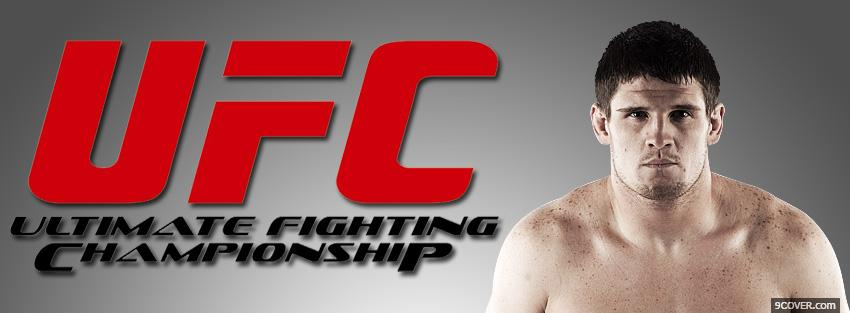 Photo steve cantwell ufc logo Facebook Cover for Free