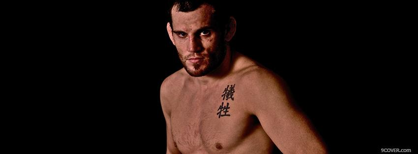 Photo jon fitch mma Facebook Cover for Free