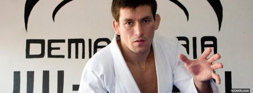 Photo demian maia fighter Facebook Cover for Free