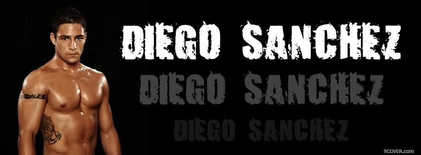 Photo diego sanchez fighter Facebook Cover for Free