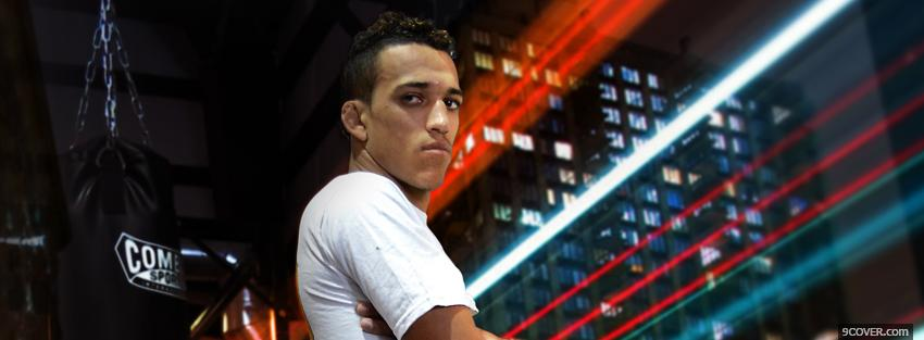 Photo charles oliveira fighter Facebook Cover for Free