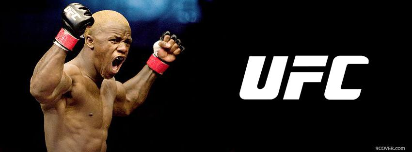 Photo screaming ufc Facebook Cover for Free