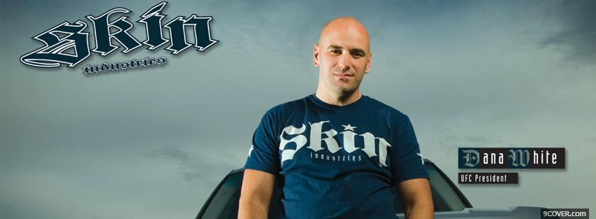Photo dana white Facebook Cover for Free