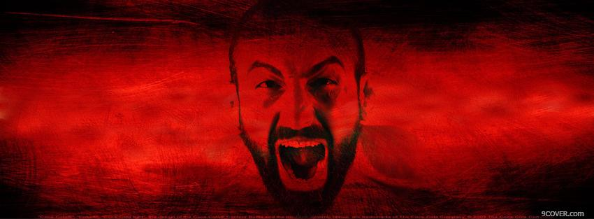 Photo reza madadi screaming Facebook Cover for Free