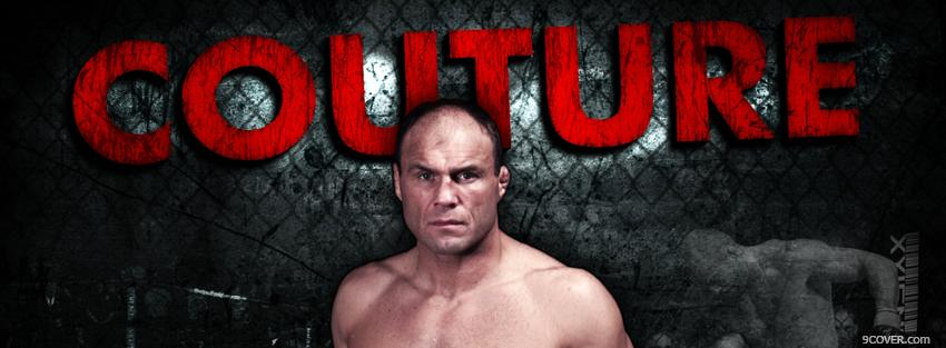 Photo couture fighter ufc Facebook Cover for Free