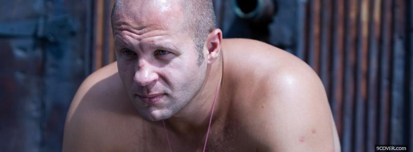 Photo fedor emelianenko ufc mma Facebook Cover for Free