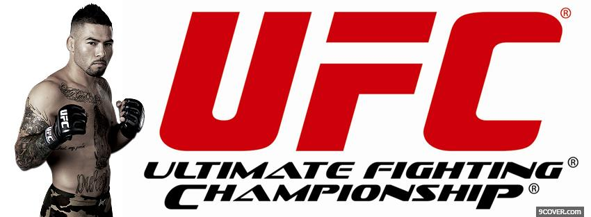 Photo ufc mma Facebook Cover for Free