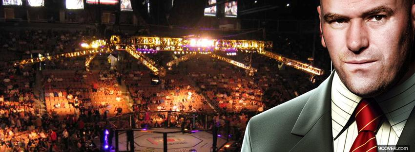 Photo ufc president dana white Facebook Cover for Free