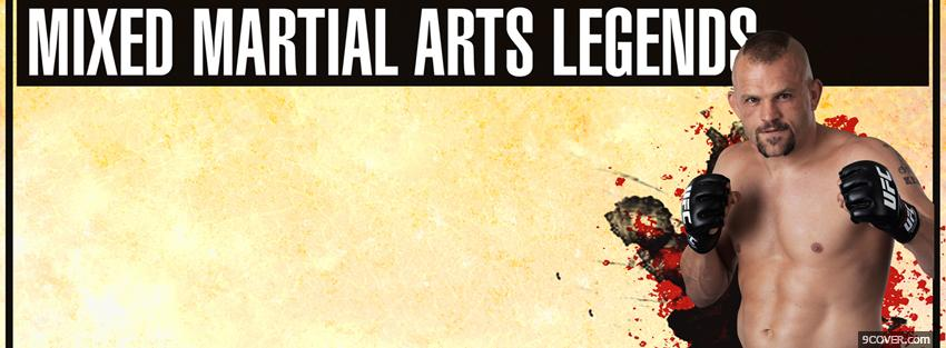 Photo mixed martial arts legends Facebook Cover for Free