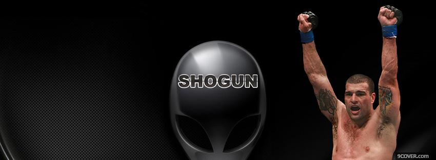 Photo shogun mma Facebook Cover for Free