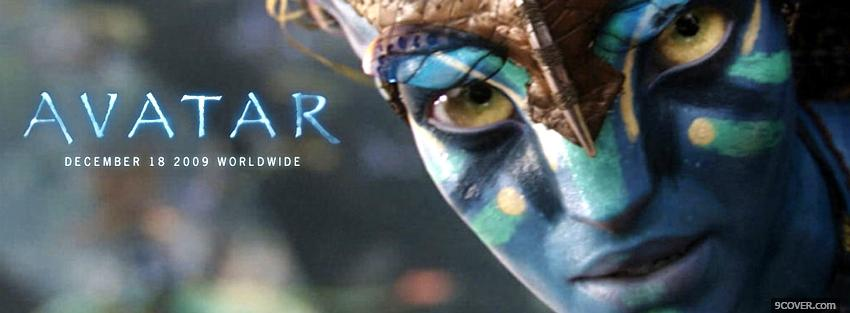 Photo avatar world wide movie Facebook Cover for Free
