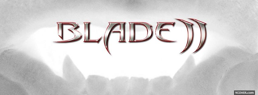 Photo movie blade 2 Facebook Cover for Free