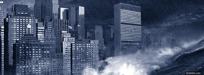 Photo movie the day after tomorrow Facebook Cover for Free